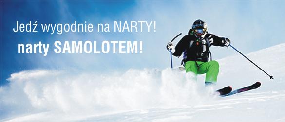 Narty samolotem z biura podr�y Traveliada.pl