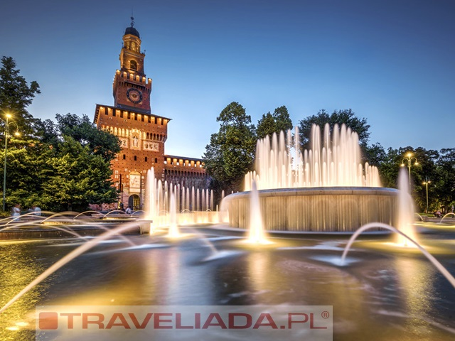 Jarmark bozonarodzeniowy w Mediolanie
