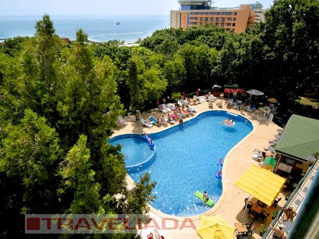BUŁGARIA Złote Piaski hotel*** Tintyava obóz młodzieżowy samolot KTW 15-19 lat