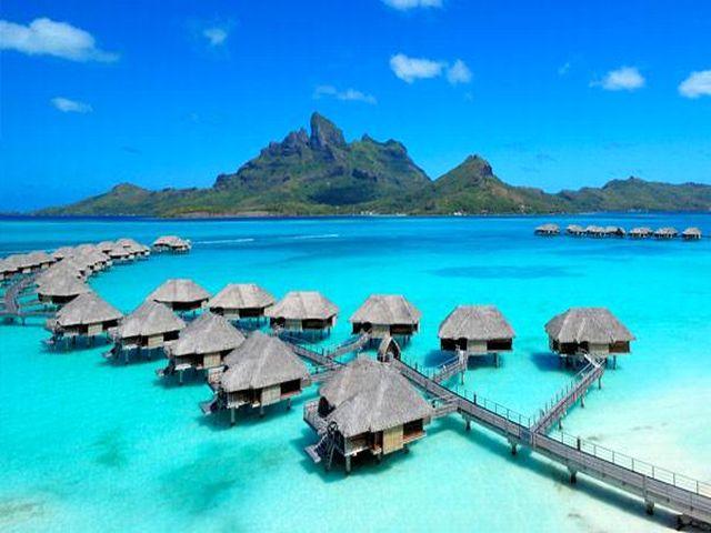 Traveliada Pl Polozenie Hoteli Na Mapie W Polinezji Francuskiej