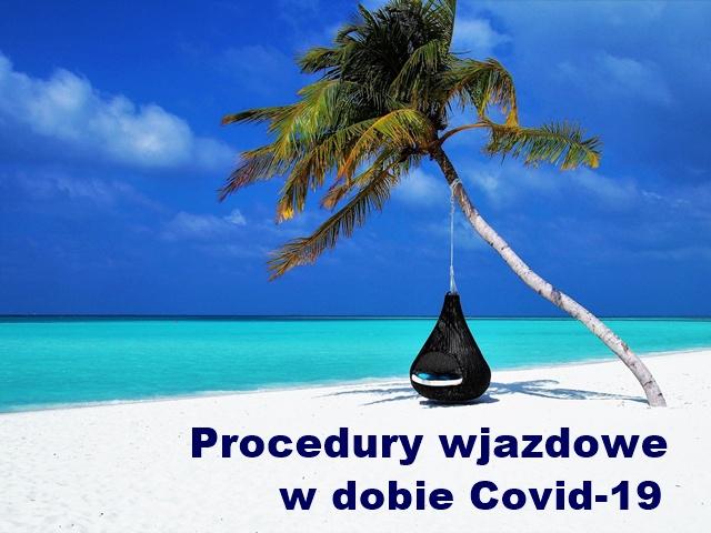 Procedury wyjazdowe Covid do ROYAL JINENE